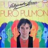 Alejandro Lerner Puro Pulmón 1986, Disco Vinilo Lp