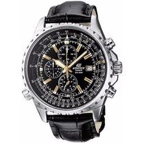 Reloj Original Casio Ef 527l 1a Cronografo Cristal Mineral