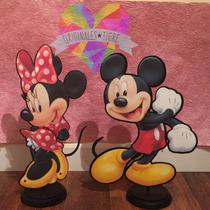 Centros De Mesa Mickey Minnie Pony Personajes Corporeos 3d