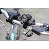 Kit 6 Peças Farol Led Bike Trilha Ciclismos 58000w 160000l