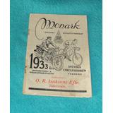 Catalogo Original Monark 1933