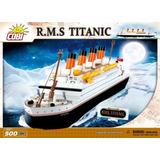 Modelo Barco A Escala Cobi Rms Titanic Building Kit
