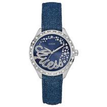 Relógio Feminino Guess, Pulseira Jeans - 92568l0gtnc1