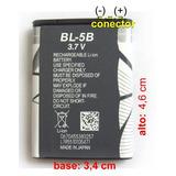 Bateria Celular Chinos Y Otros Modelo Bl-5b - En Rosario