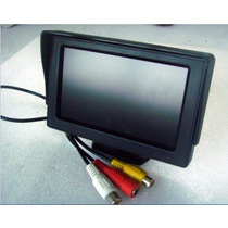 Pantalla Monitor 4.3 Tft Lcd Para Auto Camara De Reversa Dvd