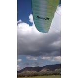 Vela Parapente Ozone Buzz Z4l + Silla + Paracaida Emergencia