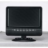 Monitor Tela Lcd 7 C/ Tv Entr. E Saída A/v Usb Sd E Rádio Fm