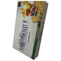Final Fantasy V (5) Super Famicom Cartucho Super Nintendo
