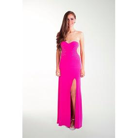 Vestido Lizminelli- Fiusha-cocktail Largo