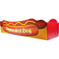Caixa / Caixinha   Embalagem Para Hot Dog - 500 Unidades