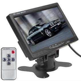 Monitor Para Câmera De Segurança E Automotivo Tft Lcd 7 P
