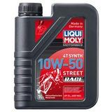 Aceite Liqui Moly Motos 4 Tiempos Sintetico 10w 50 Aleman