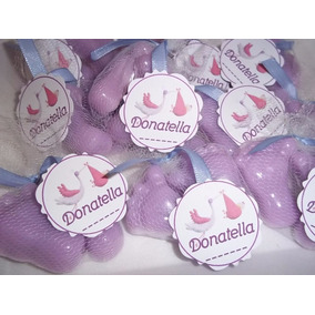 Souvenir Jabones 30 Pares Piecitos Baby Shower- Nacimiento