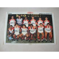 Poster Flamengo Campeão Taça Guanabara 1988