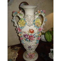 Jarron Antiguo De Porcelana
