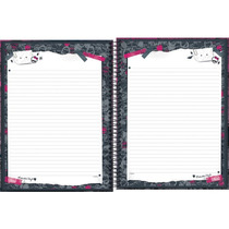 Caderno 10 Mat. Monster High Top 200 F C/04 Tilibra