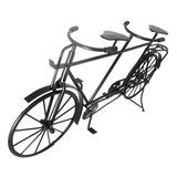 Bicicleta Mini Ferro Vintage Retro 2 Pedal Mesa 42cm Preto
