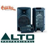 Mixpack10 400wts - Power Mixer + Parlantes - Alto