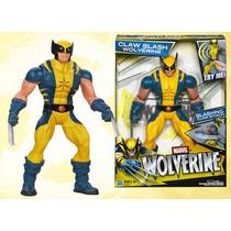 Wolverine Hasbro Figura 10 In Electronic Marvel Claw Slash