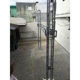 Estructura Tipo Portería C/cubos Deslizables 20x20 1 1/4