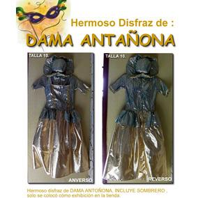 Disfraz De Dama Antañona