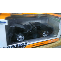 Chevy Camaro 1985 Negro Mate En Caja Jada Toys 1:24 Super De