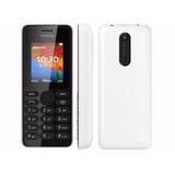 Celular Nokia 108 Dual Sim Câmera Vga Mp3 Rádio Fm Novo + Nf