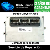 Reparacion Ecm Ecu Pcm Dodge Chrysler Jeep Ram Cherokee