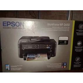 Vendo Impresora Epson Workforce 2650 Tinta Continua En Caja