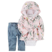 Set Carters Tapado Algodón Jean Body Bellisimo!