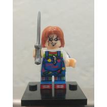 Lego Compatible Chucky El Muñeco Diabólico.