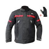 Jaqueta Motoqueiro Sbk V1 Imperm 100%+proteção+ Brinde Luva