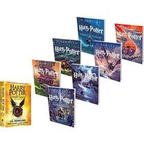 Kit Livros Coleção Harry Potter - Saga Completa 8 Livros