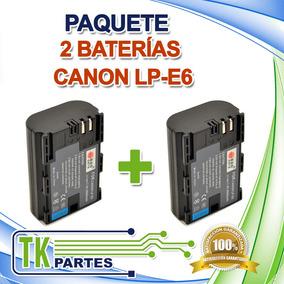 Kit Dos Baterías Para Canon Lp-e6 Eos 5d Mark Ii 70d 60d