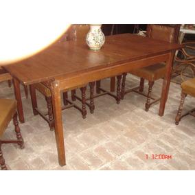 Mesa de comedor estilo americano muebles antiguos en for Muebles estilo nordico argentina