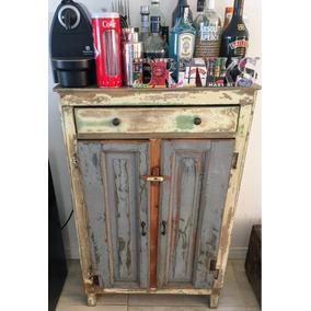 Mueble Antiguo Restaurado Para Bar