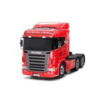 Rc Caminhao Tamiya Truck 1:14 Scania R620 6x4 High Line