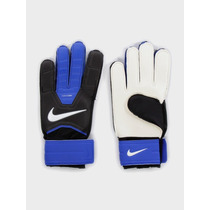 Nike Gk Match Guantes De Caucho De Futbol Azul-negro-blanco