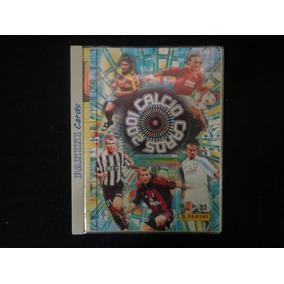 Fichario Cards Calcio 2001 Italia Panini 125 Cards