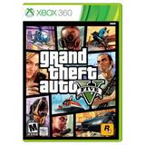 Nuevo Fisico Microsoft Xbox 360 Grand Theft Auto 5 Gta5