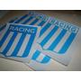 Rdg - Vinilo Sticker Calcomania Escudos Racing