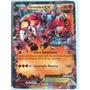 Carta Pokemon Groudon Ex - 85/160 Conflito Primitivo (xy5)pt