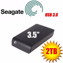 Hd Externo Seagate Expansion 2 Teras Portatil Preto 3.0