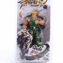 Street Fighter Iv Survival Boneco Guile 18 Cm Envio Imediato