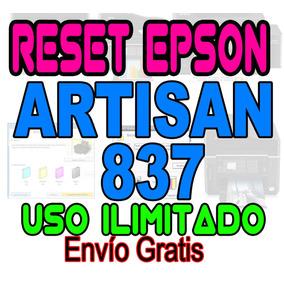 ++ Reset Original Epson Almohadillas Artisan 837 Garantizado