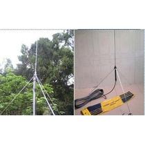 Antena Plano Terra 1/4 De Onda Para Transmissor De Fm 15w