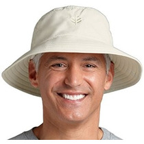 Coolibar Upf 50+ Hombres Sombrero De Sol