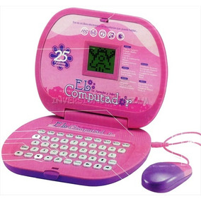 Computadora Princesa Juguete Para Niñas 25 Funciones Laptop