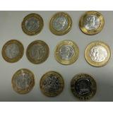Modenas De 20 Pesos Colección Completa Envió Gratis Gratis!!