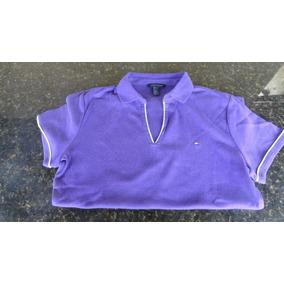 Camisa Gola Polo Feminino Tommy Hilfiger.
